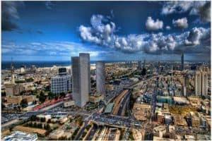 צילום אוויר תל אביב